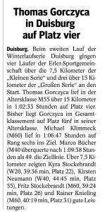 26.02.192. Lauf Winterlaufserie Duisburg